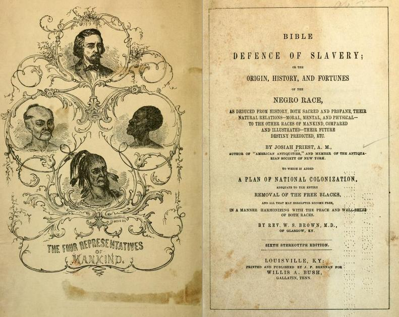 Bible Defense of Slavery