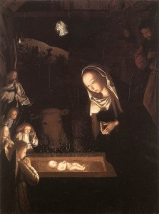 nativity by night Geertgen