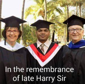Harry grad