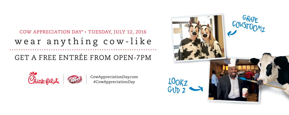 cow appreciation 2016