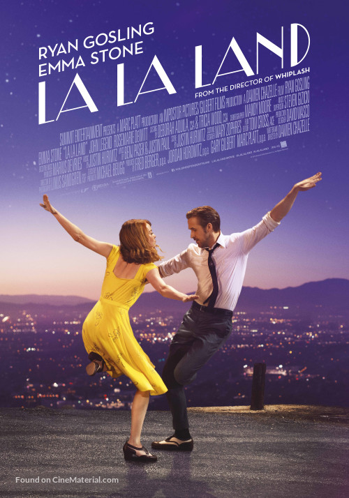 if you just watch the first half of la la land you ll find yourself swept into the blue sky sunshine and citrus colors of hollywood dreams