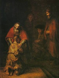 Rembrandt's Return of the Prodigal