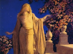maxfield parrish romantic art enchantment