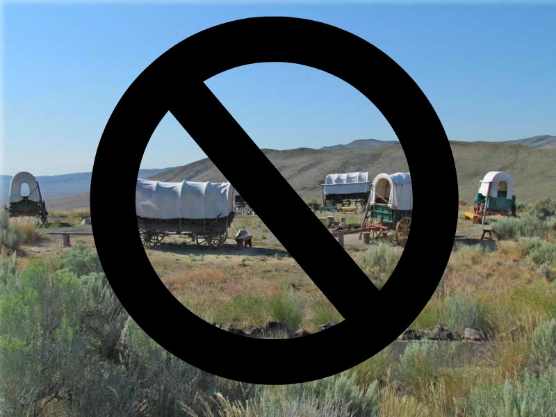 NO circled wagons