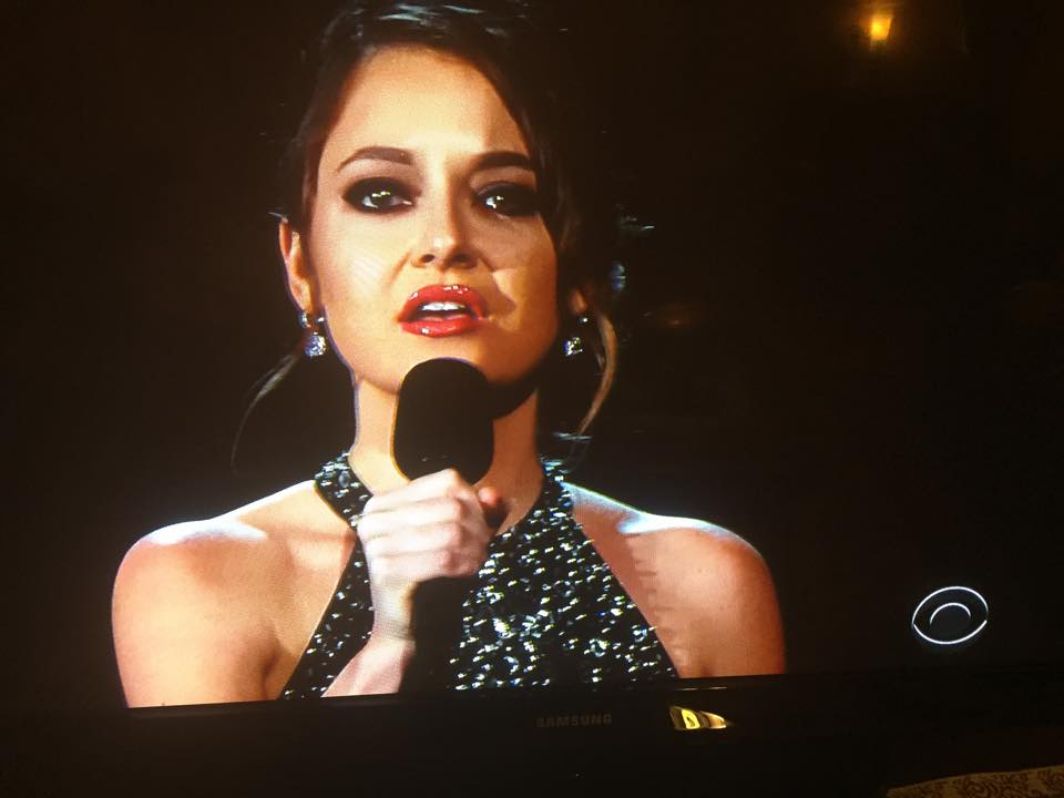 Brooke at Grammys