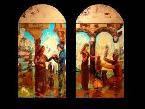 Bruce Herman Triptych 2