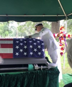 Dad's funeral honor guard1