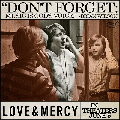 love and mercy LP poster