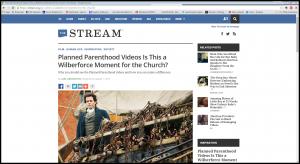 The Stream Wilberforce Screenshot