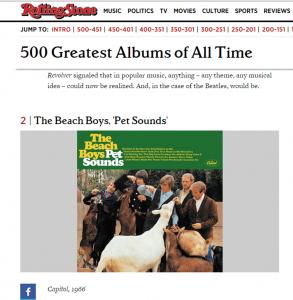 Beach Boys Rolling Stone #2